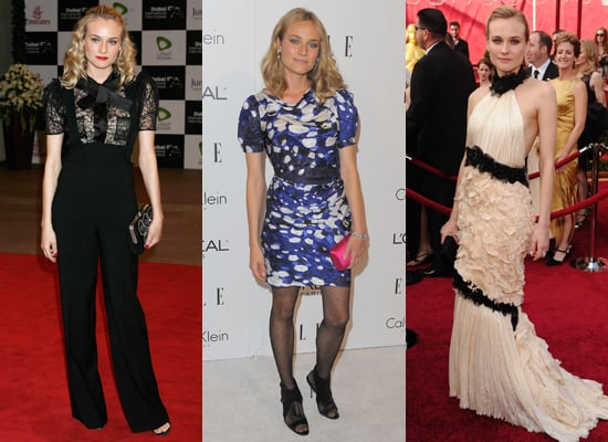Photos of Diane Kruger's Style and Red Carpet Events