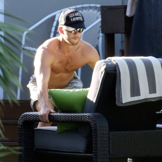 Ryan Kwanten Moving Furniture While Shirtless | Pictures