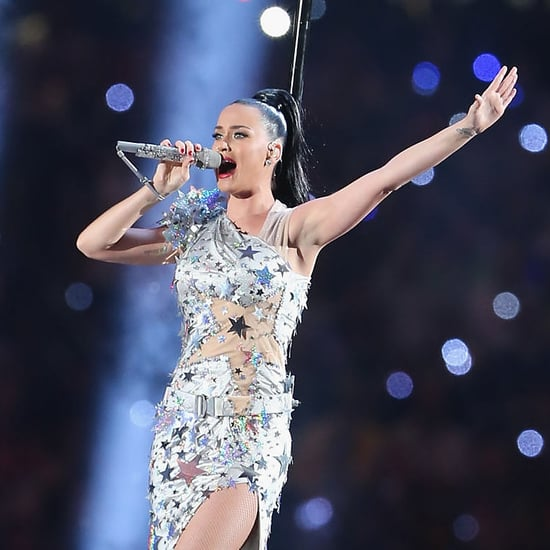Katy Perry Super Bowl Performance With Wii Remote