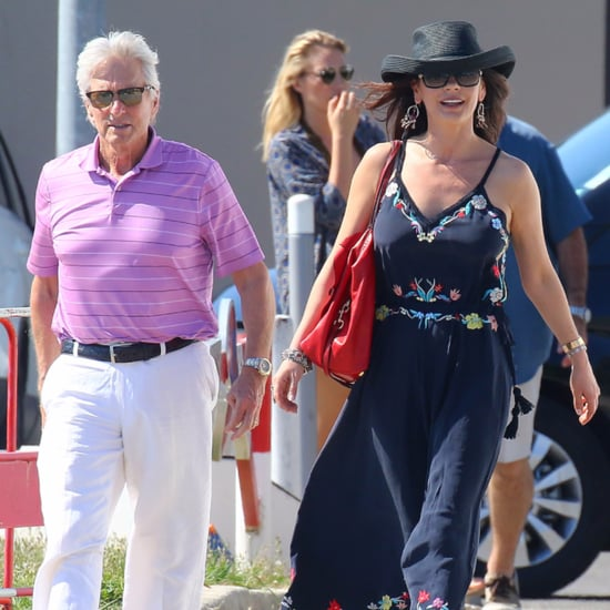 Michael Douglas and Catherine Zeta-Jones in France June 2016