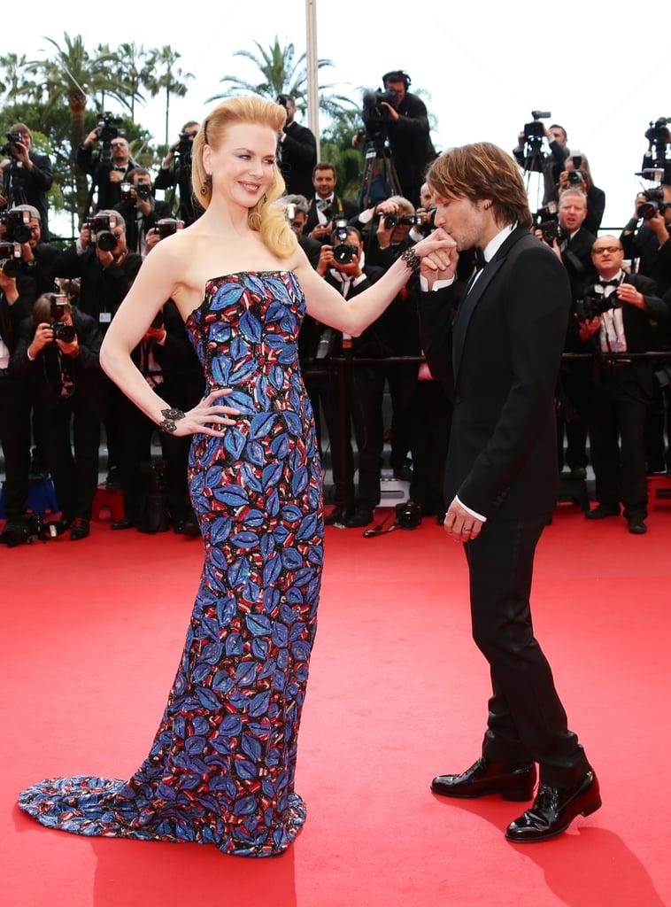 Keith Urban swept Nicole Kidman off her feet at the Cannes Film Festival premiere of Inside Llewyn Davis on Sunday.