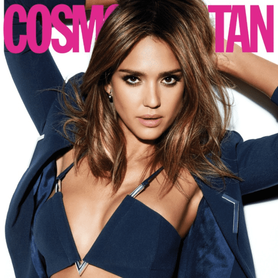 Jessica Alba in Cosmopolitan March 2016