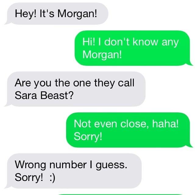 "How does one get the nickname ""Sara Beast""?"