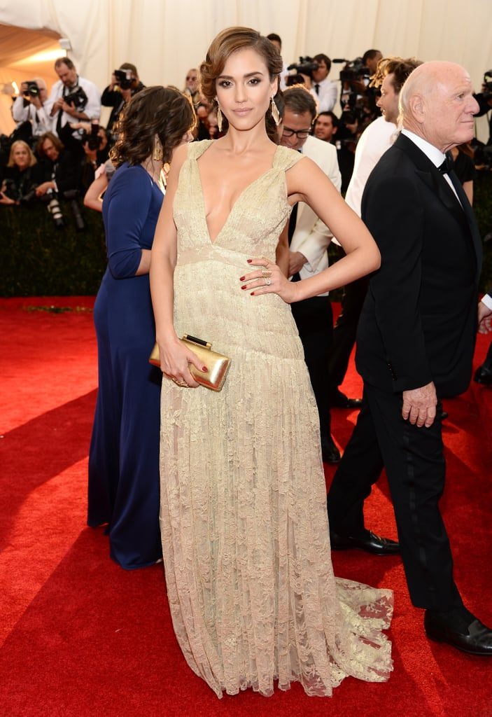 Jessica Alba at the 2014 Met Gala