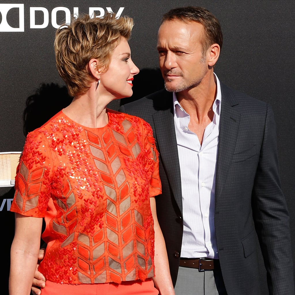 Tim mcgraw and faith hill at tomorrowland premiere for Do tim mcgraw and faith hill have kids