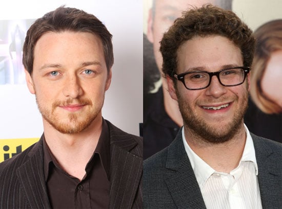James McAvoy and Seth Rogen to Star in I'm With Cancer