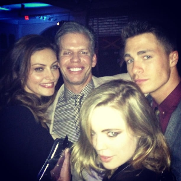 Phoebe Tonkin hung out with Colton Haynes and Melissa George. Source: Instagram user phoebejtonkin