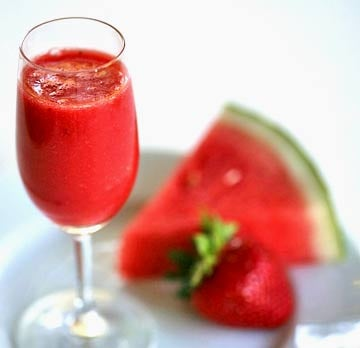 Yummy Link: Strawberry Watermelon Agua Fresca