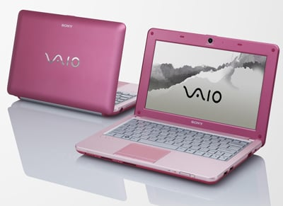 Sony Introduces New Mini Netbook, the VAIO W