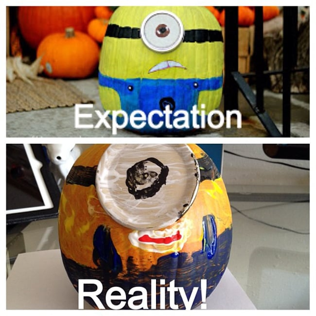 Minion Pumpkin
