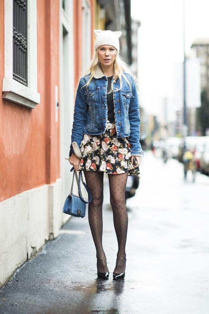 Part girlie girl, part cool girl.  Source: Le 21ème | Adam Katz Sinding