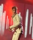 Justin Bieber danced on stage at the American Music Awards.