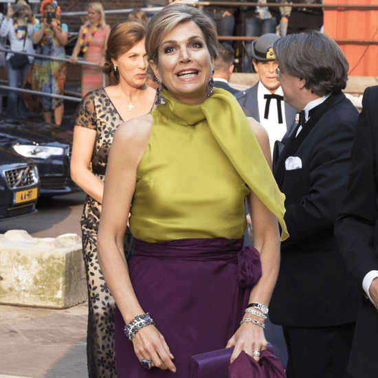 Queen Maxima's Outfit Presenting King Willem I Award 2016