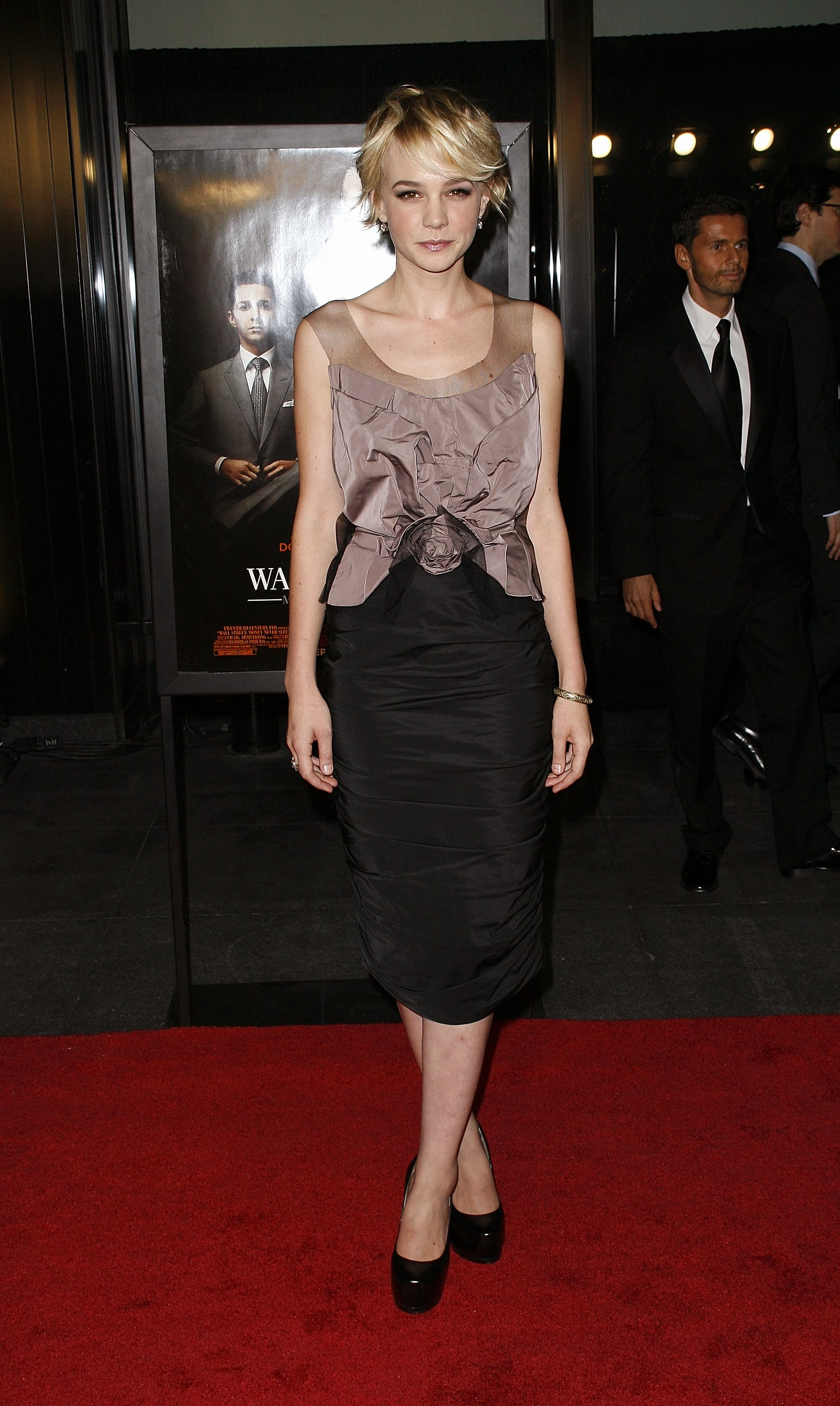 Carey Mulligan in Nina Ricci at the 2010 Wall Street: Money Never Sleeps NYC Premiere