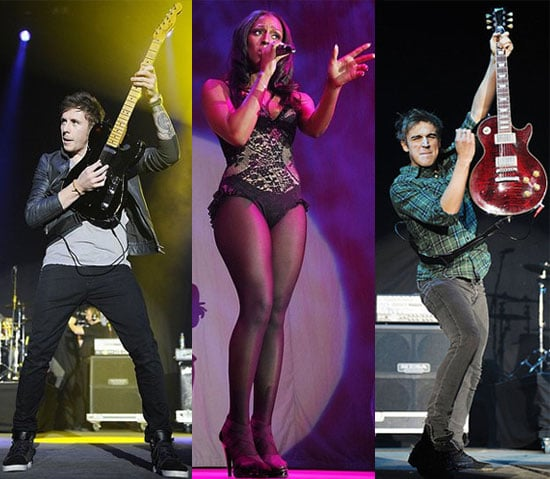 Pictures from the Jingle Bell Ball 2010 in Manchester