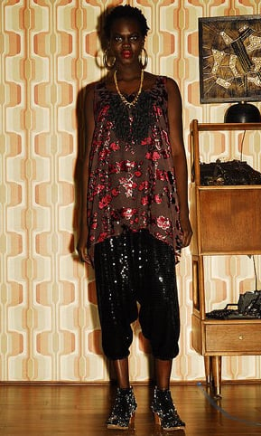 Look of the Day: All Things Shiny