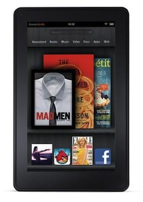 Amazon Kindle Fire Tablet Details