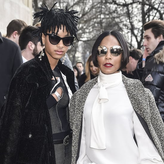 Willow Smith and Jada Pinkett Smith at PFW March 2016