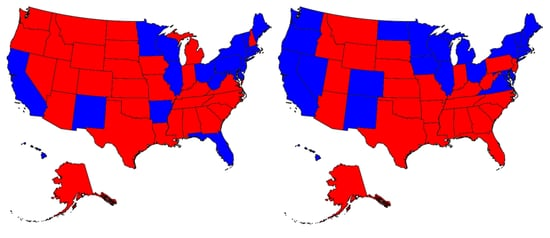 First 2008 Electoral College Map