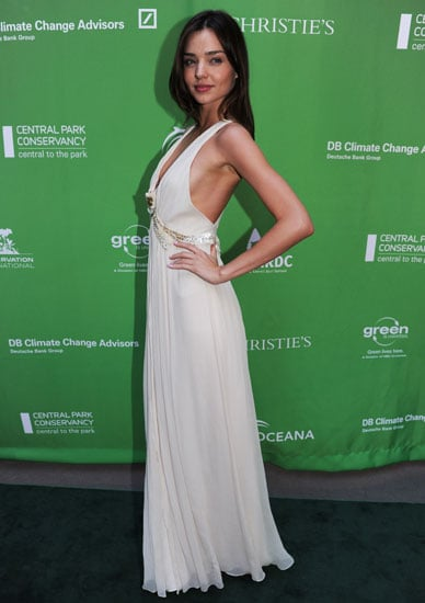 April 2010: Miranda Kerr at Christie's Green Auction