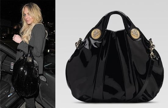 The Bag To Have: Lindsay Lohan's Gucci Hysteria Top Handle Bag