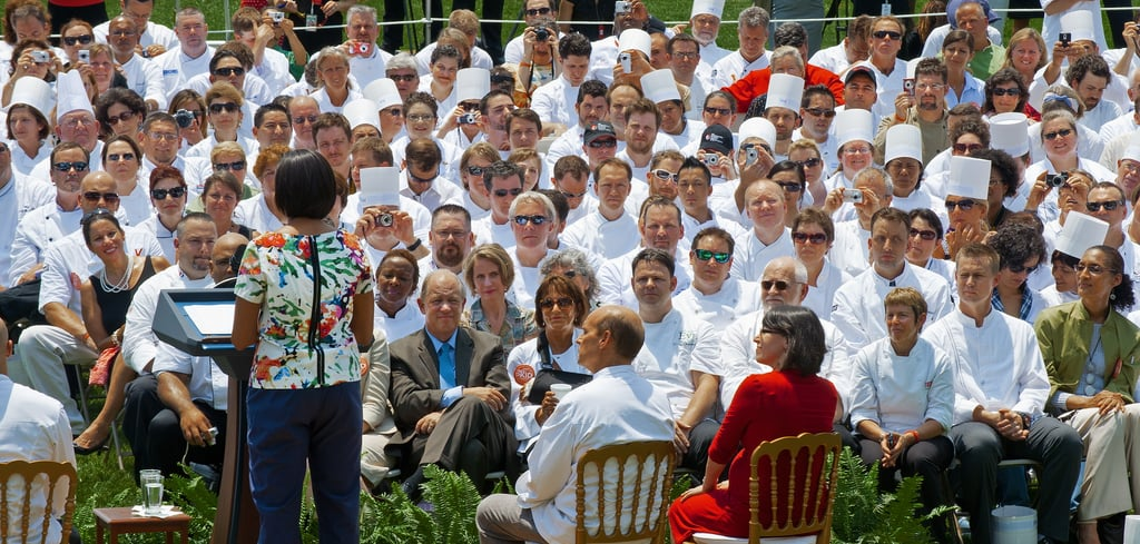 The kickoff took place Friday, June 4, at the South Lawn of the White House.