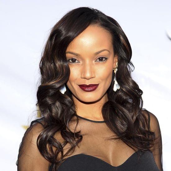Selita Ebanks Deep Red Lipstick Color