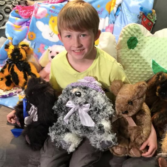 This Incredible 12-Year-Old Boy Makes Teddy Bears For Sick Children