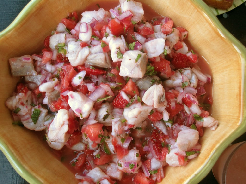 A Berry Tempting Strawberry Ceviche