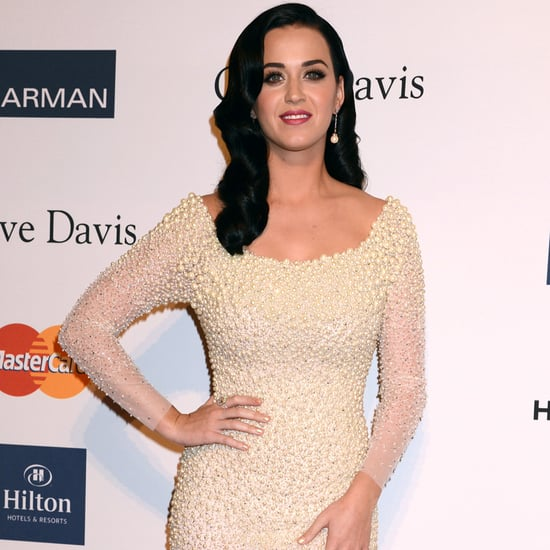 Katy Perry & Miley Cyrus Battle Off at the Pre-Grammys Party