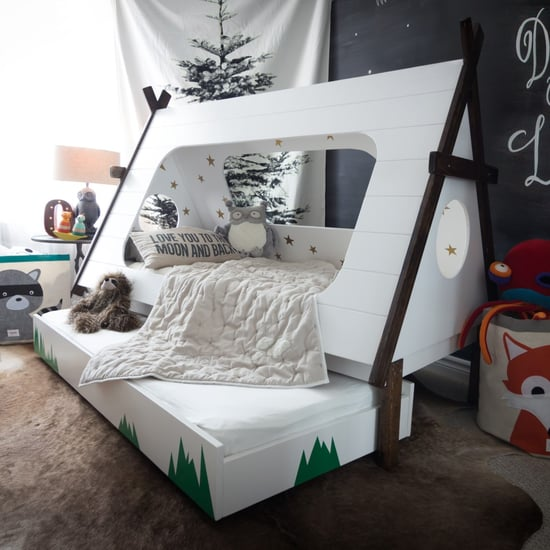 This DIY Bed Lets Kids Feel Like They're Camping All Year