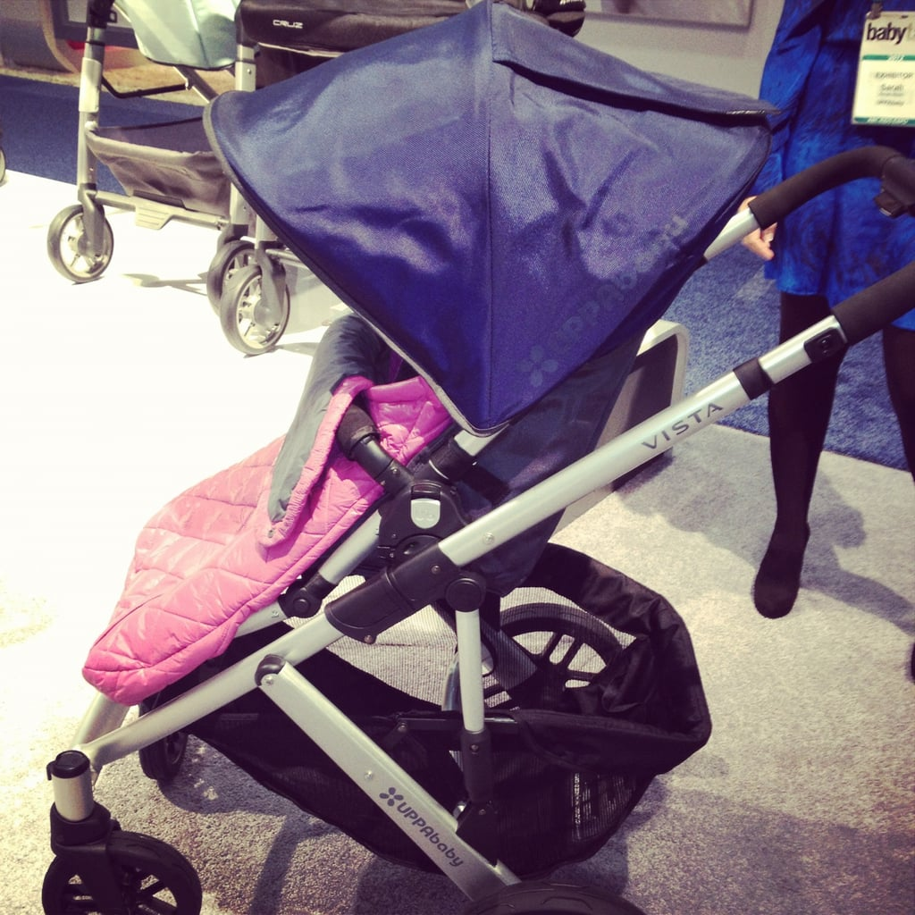 UppaBaby is introducing new, bold colors for the Vista next year.