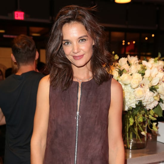Katie Holmes Wearing Tights | November 2015