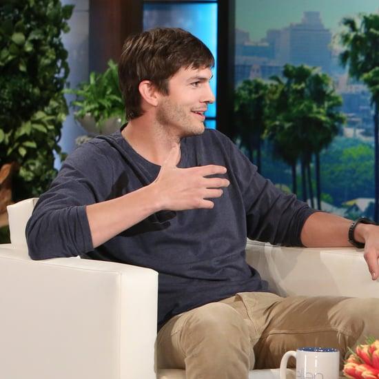 Ashton Kutcher on The Ellen DeGeneres Show March 2016