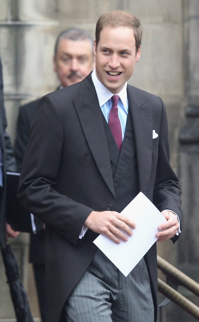 Prince William was honored at the Thistle Ceremony in Scotland.