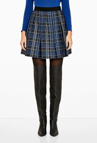 Sportmax Code Brezza Plaid Full Skirt