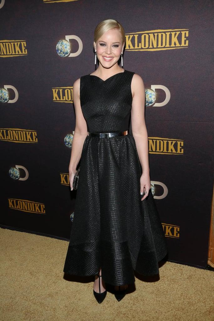 Abbie Cornish at Klondike's New York Premiere