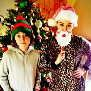 Celebrity Christmas Pictures 2012