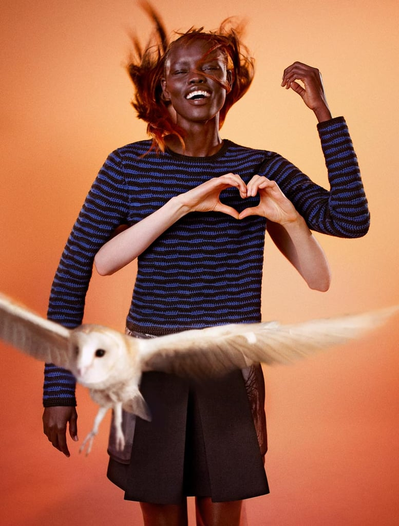 Edun's Fall campaign was shot by photographer Ryan McGinley.
