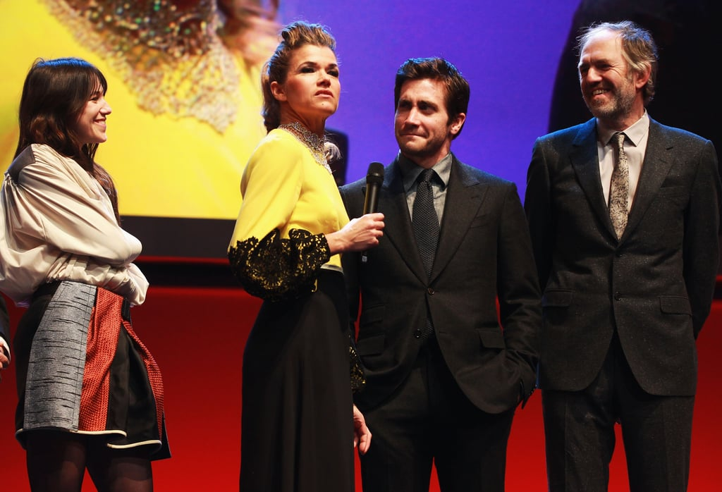 Jake said a few words during the opening ceremony of the Berlin Film Festival.