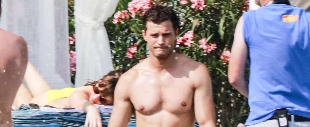 Jamie Dornan's Shirtless Beach Day in France Is Here to Instantly Make Your Day Better