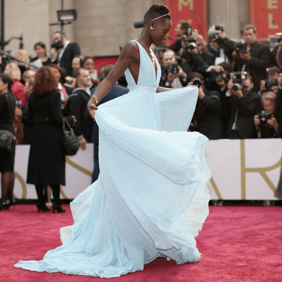10 Pictures of Lupita Nyong'o Loving Life in Her Prada Dress
