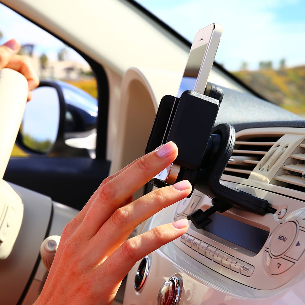 No matter which gadget your dad loves most, chances are he'll love this convenient smartphone CD slot mount ($19, originally $25). The mount inserts into a front-loading CD player slot and holds anything from a cell phone to a satellite radio to a GPS unit.