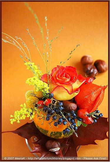 DIY Pumpkin Centerpieces