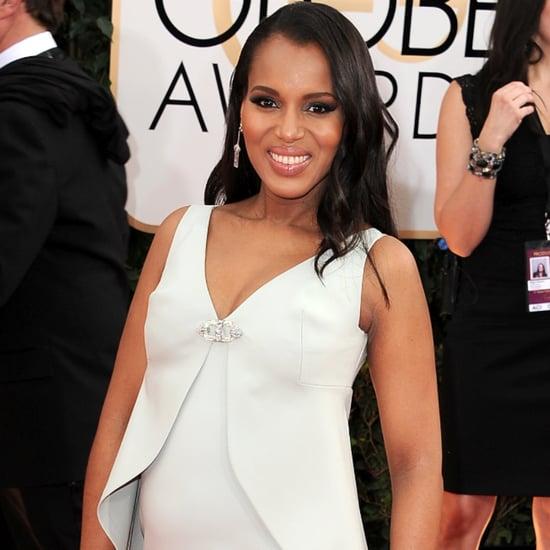 Pregnant Celebrities 2014 Golden Globes