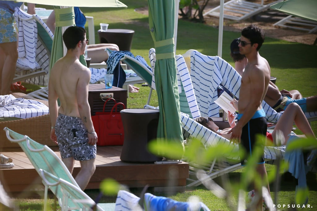 Nick and Joe chatted.