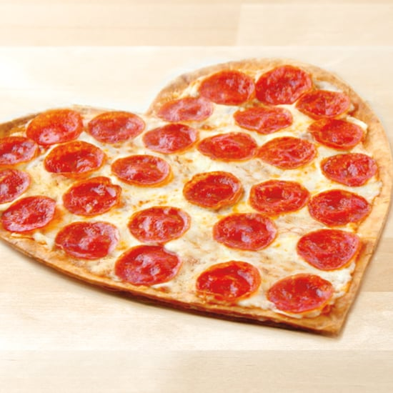 Papa John's Heart-Shaped Pizza