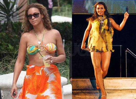 Beyonce Knowles Bikini Photos in Bermuda