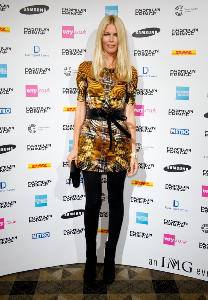 Fashion Fringe: Claudia Schiffer