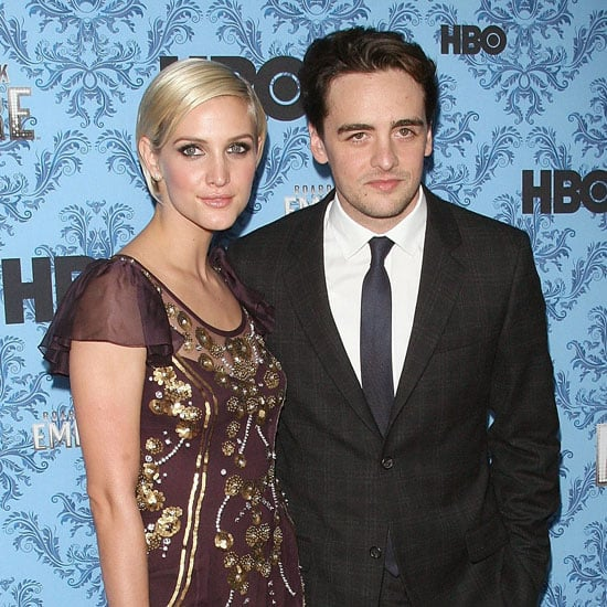 Ashlee Simpson and Vincent Piazza Red Carpet Pictures at Boardwalk Empire